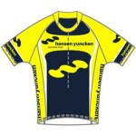 Image of cycle jersey custom designed for cycle team