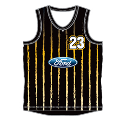 image for ladies round neck basketball jersey designed for your basketball team uniform