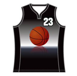 Image for magic neck basketball jersey designed to ensure maximum comfort