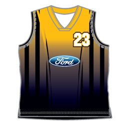 image for mens laker v neck basketball jersey custom designed for your basketball team