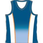 Image of track and field running shirt for custom design for athletics tieam