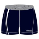 Image of track and field spandex tights front view, custom sports apparel from Captivations Sportswear