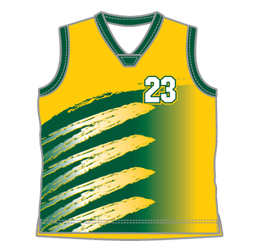 Round Neck Basketball Jersey Sublimated Uniforms Custom