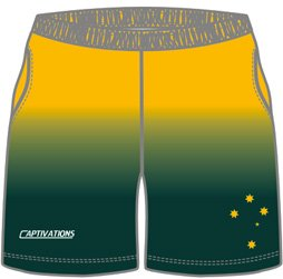 Images of custom field hockey shorts designed for varsity, college or school hockey teams