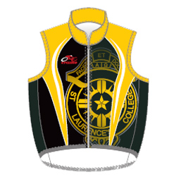 Image for custom cycle vest designed by Captivations Sportswear