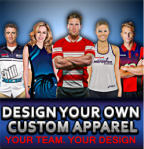Design your own custom apparel captivations sportswear for Design your own athletic shirt