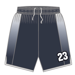 Elite basketball shorts custom designed to match all basketball team uniforms