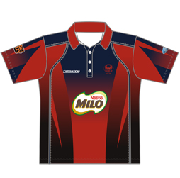 Imageof a sports polo that can be customized for your club, school or organization