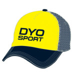 Image of yellow custom foam trucker cap from Captivations Sportswear