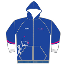 Image of hooded sweatshirt that can be customized for your club, team, school or organization